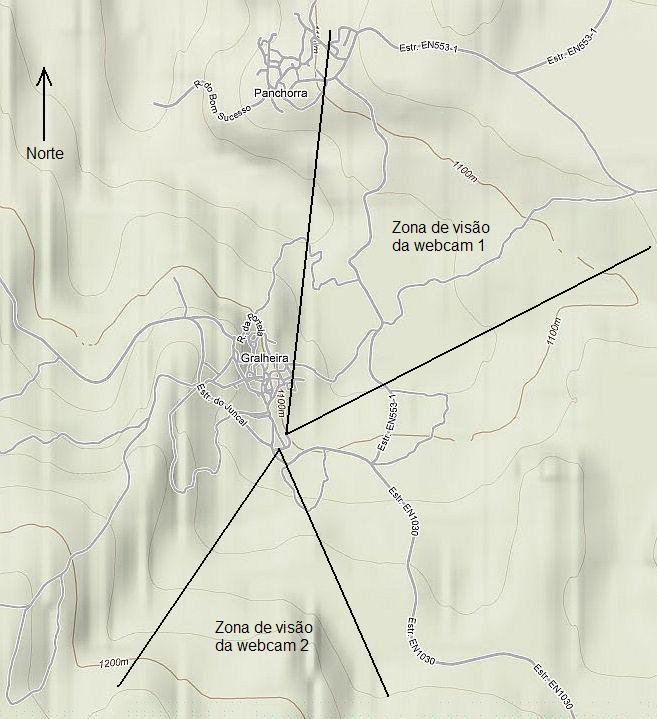 mapa webcam